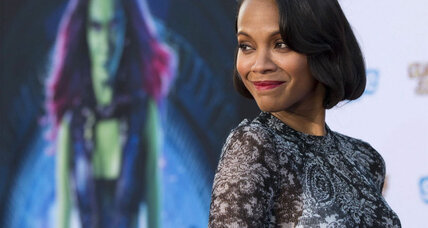 Zoe Saldana, 'Guardians of the Galaxy' star, discusses the unusual new movie