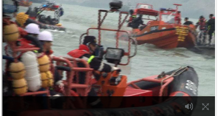 Captain of South Korean ferry, two crew members arrested for alleged negligence