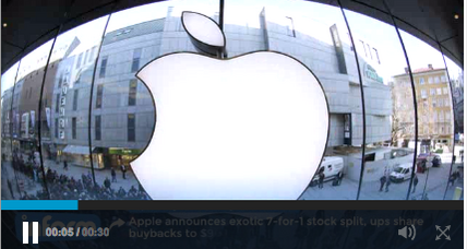 Apple stock split shocks analysts, will it work? (+video)