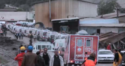 Dozens detained, 3 arrested in Turkish mine disaster
