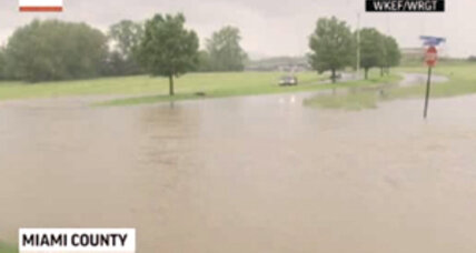Ohio flash flooding: Heavy rains shut down two interstates in western Ohio