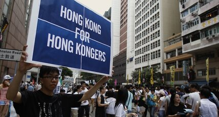 Will China vet Hong Kong election? Protests hang in the balance