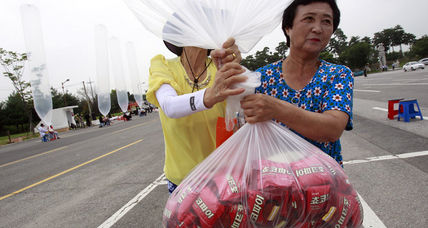Why South Korea is throwing 10,000 Choco Pies at the DPRK