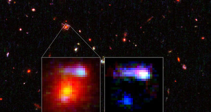 Cosmic 'magnifying glass' helps scientists see something really, really, really far away (+video)
