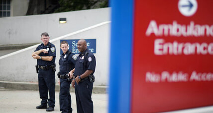 First Ebola-stricken US aid worker arrives at Atlanta hospital