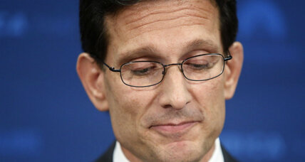 Why Eric Cantor is stepping down early (+video)
