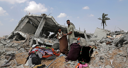 In this Gaza neighborhood, a possible Israeli war crime
