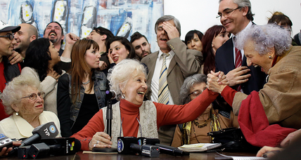 Argentine 'dirty war' mystery solved for founder of Grandmothers of Plaza de Mayo