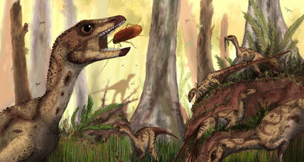 Were early dinosaurs herd animals? New discovery points to dino-gregariousness.