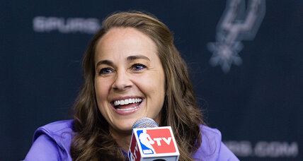 Becky Hammon breaks a barrier for women in sports with Spurs coaching hire