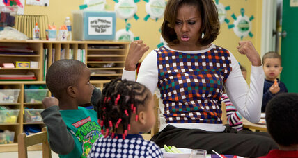 Back to school: No snacks for you, Michelle Obama says