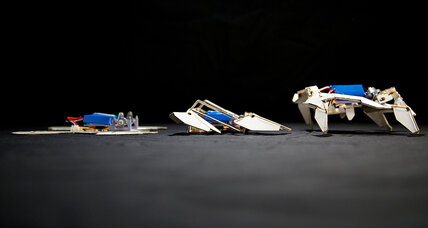 How robots could assemble themselves à la origami – and not cost too much