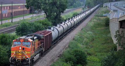 Coal shortage? Blame oil trains.