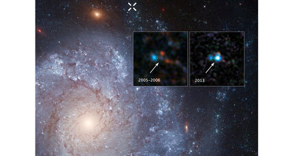 Old Hubble telescope data yields new supernova discovery