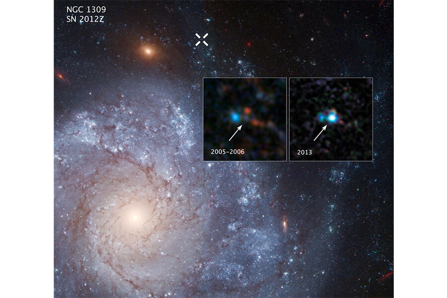 Old Hubble telescope data yields new supernova discovery ...