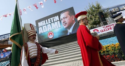 As Erdogan makes presidential bid, Turkish media airs 'Truman Show'