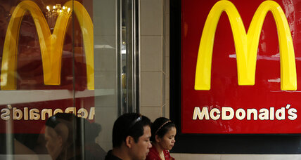 McDonald's US sales fall for third straight month as eating habits shift (+video)