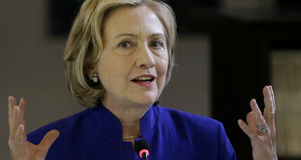 Hillary Clinton attacks foreign policy she helped create and implement