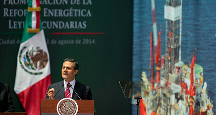 Touchstone of Mexican nationalism overturned: gas, oil open to foreign firms