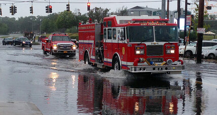 Long Island flooding: 2 months of rain falls on NY town (+video)