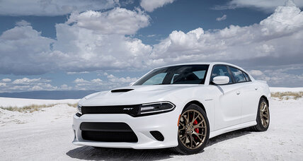 Charger Hellcat from Dodge is the most powerful sedan in the world. Officially.