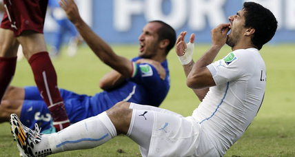 Luis Suarez 4-month ban for biting upheld by CAS