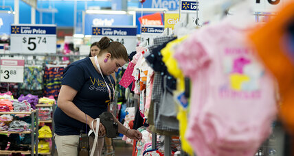 Wal-Mart cuts profit outlook again as customers dwindle