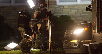 Ferguson shooting: When cameras focus on police, it's legal, courts say (+video)