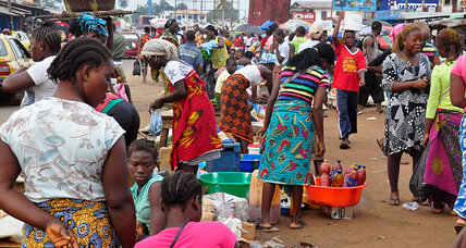 Ebola may leave one million in need of food aid in three West African countries