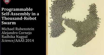 Scientists build 'army' of robots capable of swarming into 3D formations