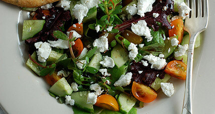 The simple pleasure of a summer salad