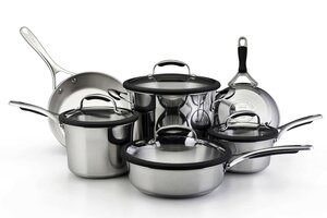 Farberware Classic Stainless Steel 12-Piece Cookware Set 75779