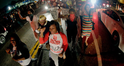 As Mike Brown protests continue, how can Ferguson heal? (+video)