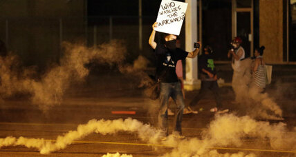 Mike Brown protests: why the looting, tear gas got worse