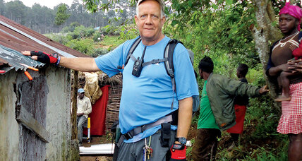 Bob Keesee's rain catchers bring clean water to Haiti's poorest