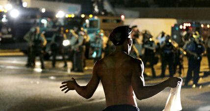 As Ferguson seethes, Europe weighs its own policing efforts (+video)