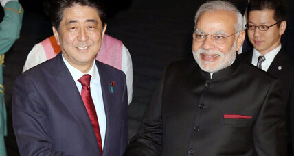Why Japan's Abe and India's Modi are Asia's new best friends (+video)
