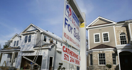 US housing rebound: 'Distressed' share of home sales falls to 9 percent (+video)