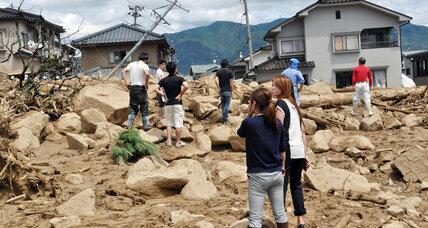 Japanese landslides leave at least 39 dead, dozens missing