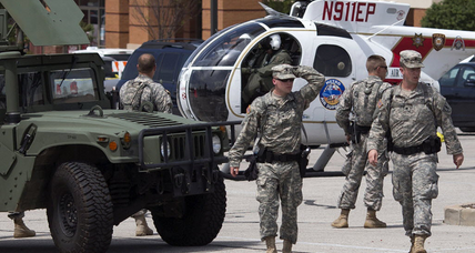 National Guard withdraws from Ferguson