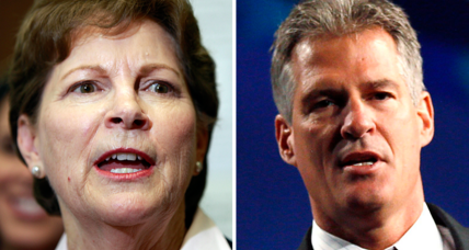 Shaheen-Brown race tightens in N.H., poll shows. Is Obama to blame?