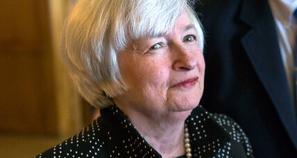 When will Fed raise rates? Yellen talks a careful line.