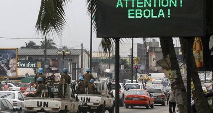 Ivory Coast closes border with Guinea and Liberia as Ebola spreads