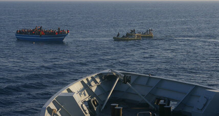 Boat carrying about 170 migrants sinks off Libyan coast