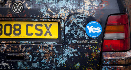 Yes or no? Race is on for Scotland's undecided voters.