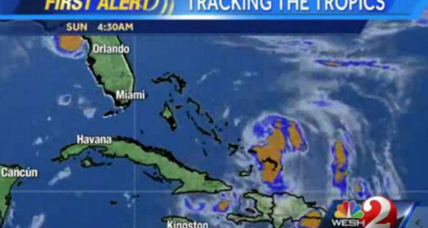 Tropical storm Cristobal takes aim at Bahamas