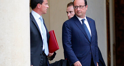 Hollande reshuffles government in hopes to revive the stagnant economy