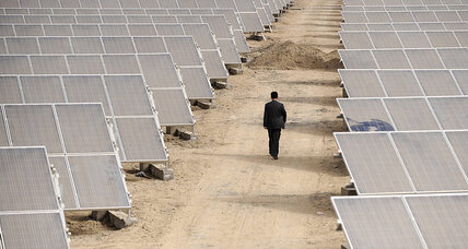 In race for solar power, China is winning