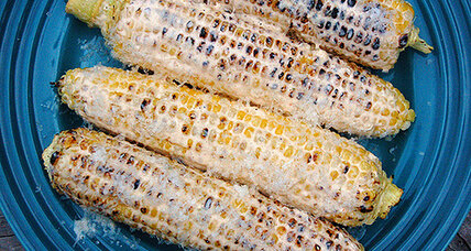 Slather that grilled corn with sriracha-lime-honey mayonnaise