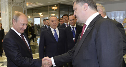 Wide gaps remain as Putin and Poroshenko discuss Ukraine crisis